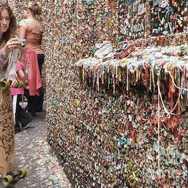 Allen Beatty - Seattle Gum Wall