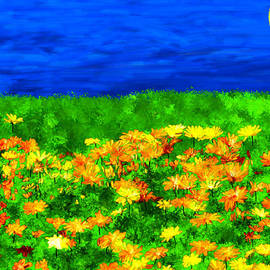 Bruce Nutting - Field of Flowers