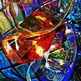 Sarah Loft - Glass Abstract 691
