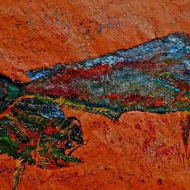 Gyotaku - Mahi Mahi - Dorado - Dolphinfish