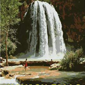 Stephen Stookey - Havasu Falls Grand Canyon