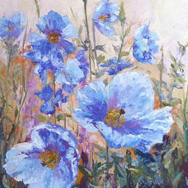 Karen Mattson - Himalayan Blue Poppies