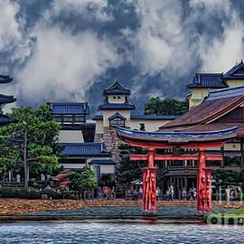 Lee Dos Santos - Japanese Lakeside Mansion