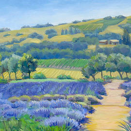 Dominique Amendola - Lavender field