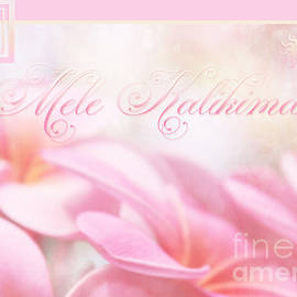 Sharon Mau - Mele Kalikimaka - Pink Plumeria - Hawaii