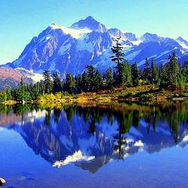 Lynn Bawden - Mount Shuksan and Picture Lake