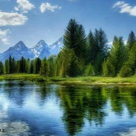 Bruce Nutting - Mountain Lake