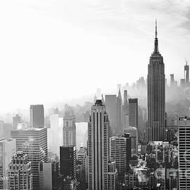 Regina Geoghan - New York City Morning Fog