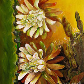 Zina Stromberg - Night blooming cereus