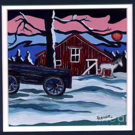 Joyce Gebauer - Outside the Barn