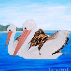 Oksana Semenchenko - Pelicans.   Inspirations Collection.