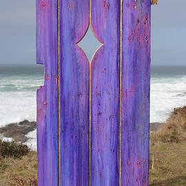 Asha Carolyn Young - Purple Gateway to the Sea