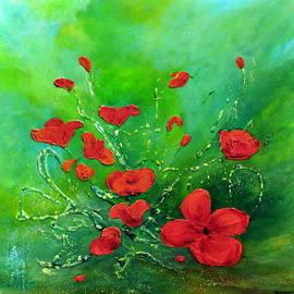 Teresa Wegrzyn - Red Poppies