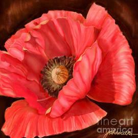 Joan A Hamilton - Red Poppy Two