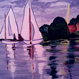 Nikki Dalton - Sailing after Monet