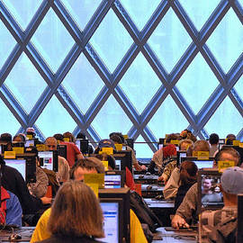 Allen Beatty - Seattle Library Computer Room