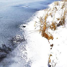 Thomas R Fletcher - Snow and Ice on Lake