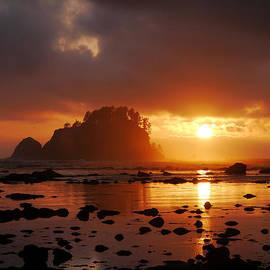 Dana Henry - Sunset at the ocean