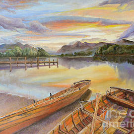 Mary Ellen Anderson - Sunset Over Serenity Lake