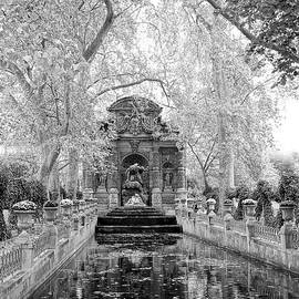 Richard Rosenshein - The Medici Fountain In The Luxembourg Gardens In Paris France