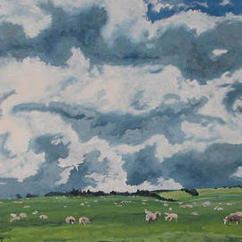 Francois Fournier - The sheep On Field