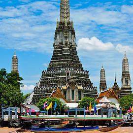 Colin Utz - Wat Arun - Tempel Of Dawn - Bangkok Thailand Southeast Asia