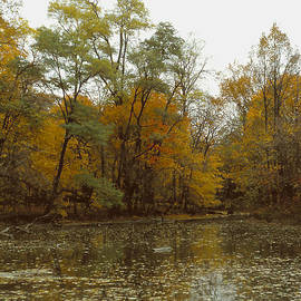 ImagesAsArt Photos And Graphics - Water Refelcts The Autumn Landscape