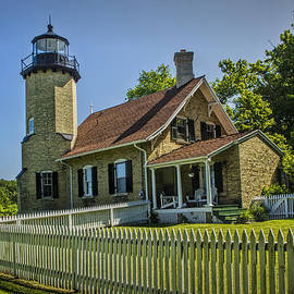 Randall Nyhof - White River Lighthouse in Whitehall Michigan No.057