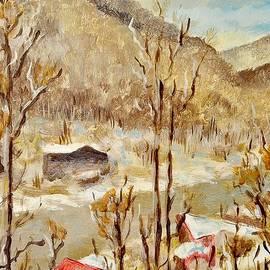 Jiri Capek - Winter landscape