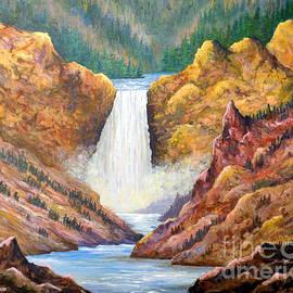 Lou Ann Bagnall - Yellowstone Falls