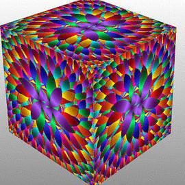 Bruce Nutting - Fractal Cube