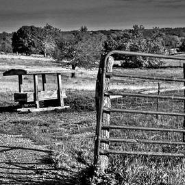 Rick Grisolano Photography LLC - 2014 July Salt Lick Stand and Gate