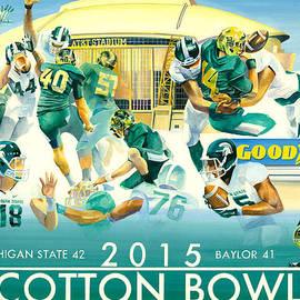 Robert Brent - 2015 Cotton Bowl Spartan Victory