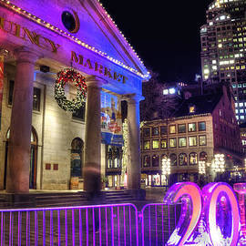 Joann Vitali - 2015 New Year in Quincy Market - Boston