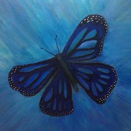 Kenna Matthews - Blue butterfly