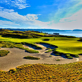 David Patterson - #15 at Chambers Bay Golf Course - Location of the 2015 U.S. Open Tournament