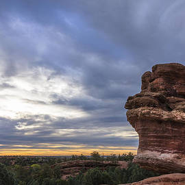 Brian Harig - Balanced Rock At Sunrise - Garden Of The Gods - Colorado Springs