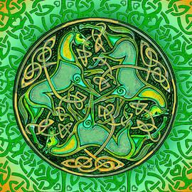 Michele  Avanti - 3 Celtic Irish Horses