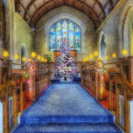 Ian Mitchell - Church at Christmas