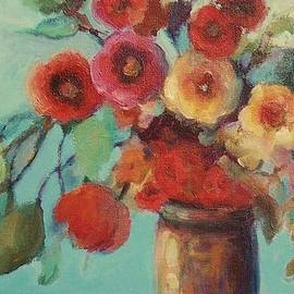 Mary Wolf - Floral Painting