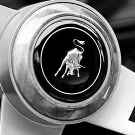 Jill Reger - Lamborghini Steering Wheel Emblem