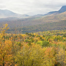 Keith Webber Jr - Mountains In Fall Mount Blue State Park Weld Maine