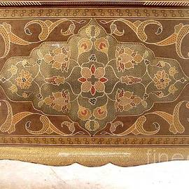 Persian Art - Persian Inlaid Wooden Table