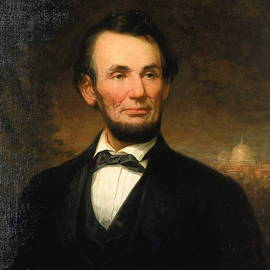 William F Cogswell - President Abraham Lincoln
