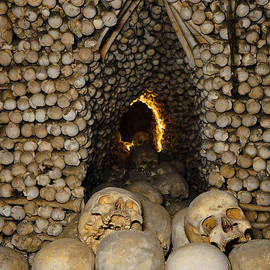 Andy Za - Sedlec Ossuary. Cemetery Church of All Saints with the Ossuary. Czech Republic.