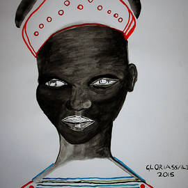 Gloria Ssali - Dinka Bride - South Sudan