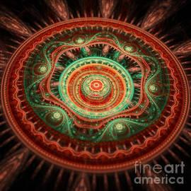 Martin Capek - 3D red and green Mandala