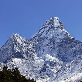 Robert Preston - Ama Dablam mountain in the Everest Region of Nepal