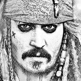 Alan Armstrong - # 1 Johnny Depp portrait.