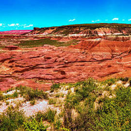 Bob Johnston - Painted Desert National Park Panorama